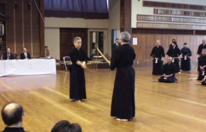 剣道中央講習伝達講習会の様子